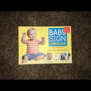 Baby sign language book